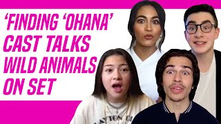Finding 'Ohana Netflix Cast Remembers Bats, Giant Fish and Spiders While Filming