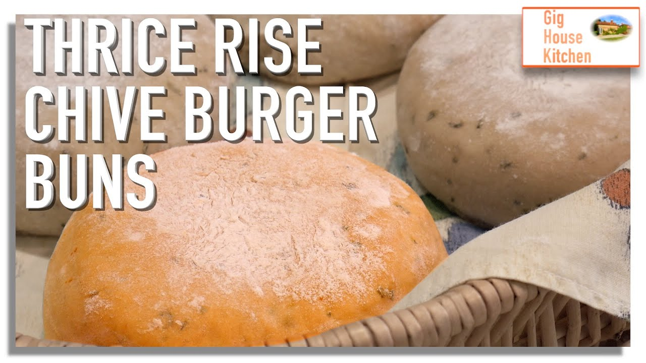 Let's Make... THRICE RISE BURGER BUNS | Store Cupboard Recipe | BBQ SEASON