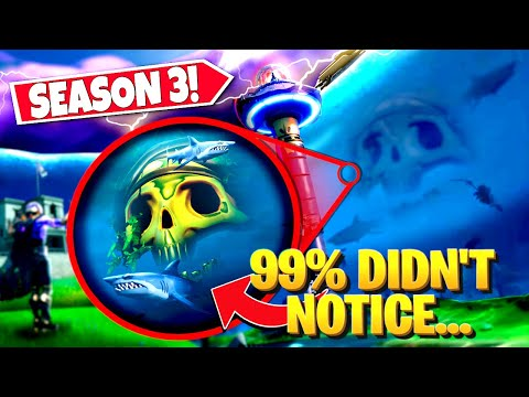 *NEW* FORTNITE SEASON 3 SECRETS *YOU MISSED* IN THE DOOMSDAY DEVICE EVENT! (Battle Royale)