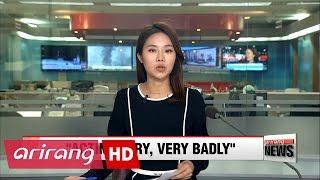 North Korean leader Kim acting 'very, very badly': Trump