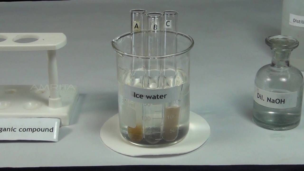 Tests for Amines - MeitY OLabs