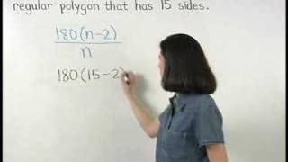 Each Interior Angle of a Regular Polygon - MathHelp.com