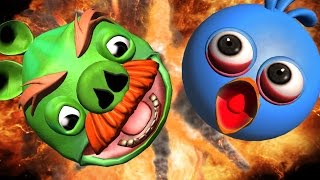 ANGRY BIRDS - EXPLOSIONS  ☺ Ultimate Angry Birds Explosions Compilation ☺ FunVideoTV - Style ;-))