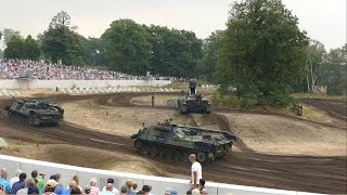 Tankevent @ NMM in 4K - Leopard 1 Engineering and Recovery Tanks