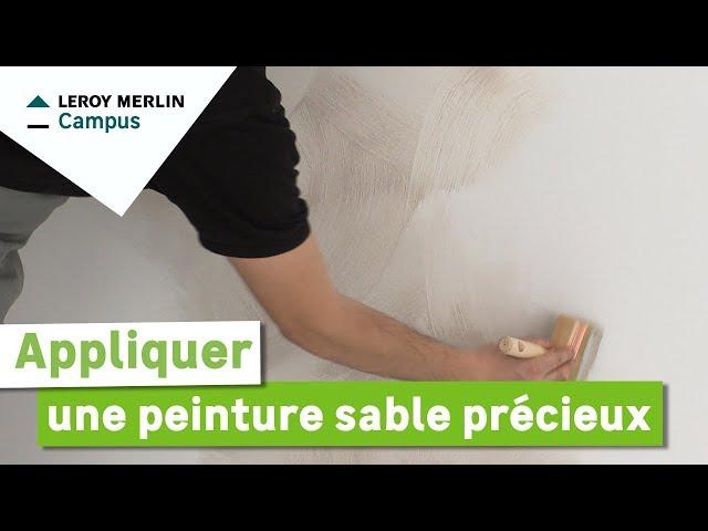 Lm vid os peinture leroy merlin for Peinture luxens sable precieux