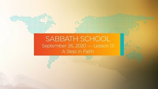 Sabbath School - 2020 Q3 Lesson 13: A Step in Faith - Interview With the Author