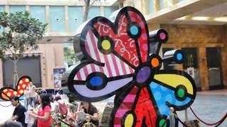 Romero Britto / Space Elephant / Adam & Eve / Thinker / Merlion Sculptures @ (rws & Imbiah Lookout)