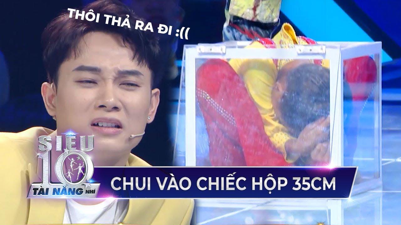 Trấn Thành, Trúc Nhân 'XÓT' với màn trình diễn của cậu bé xiếc Minh Quang | Siêu Tài Năng Nhí tập 4