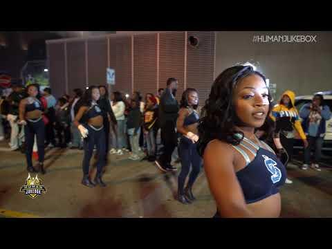 """Southern University Human Jukebox """"Marching Out"""" Bayou Classic BOTB 2018"""