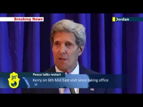 Mid East Peace Talks: John Kerry announces restart of direct Israeli-Palestinian negotiations