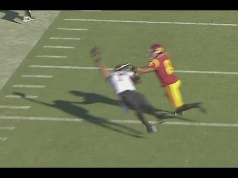 ASU WR N'Keal Harry Hauls in Odell-Style 1-Handed Grab vs. USC