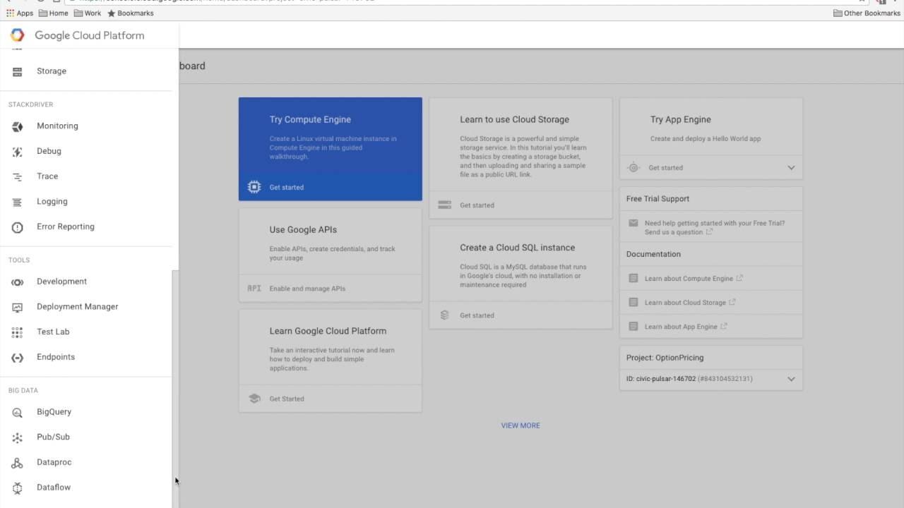 Google Cloud Platform Dataproc - Option Pricing using Monte Carlo  Simulations