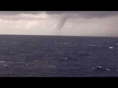Tornado near Otranto strait