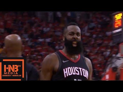 Houston Rockets vs Minnesota Timberwolves 1st Half Highlights / Game 2 / 2018 NBA Playoffs