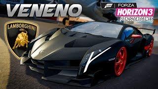 Η ΠΙΟ ΑΚΡΙΒΗ LAMBORGHINI VENENO | Forza Horizon 3 SPECIAL