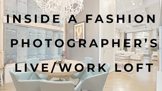 Inside a fashion photographer's Flatiron live-work loft