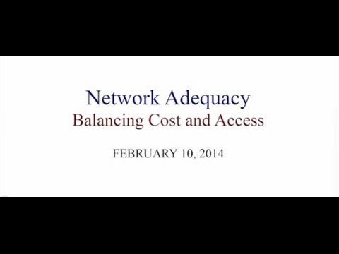 NHID Public Information Hearing- Network Adequacy Standards