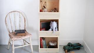 Детский шкаф своими руками или Полка для детской комнаты(Время сэкономить по-крупному! http://vid.io/xoDA Скидки в топовых магазинах! Повышенный кэшбэк! Призы на 1 000 000 рубле..., 2015-03-05T21:22:05.000Z)