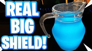 DRINKING FORTNITE SHIELDS IN REAL LIFE! (Blue G-FUEL Drinks)