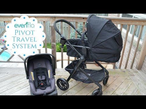 New!  Evenflo Pivot travel System Review