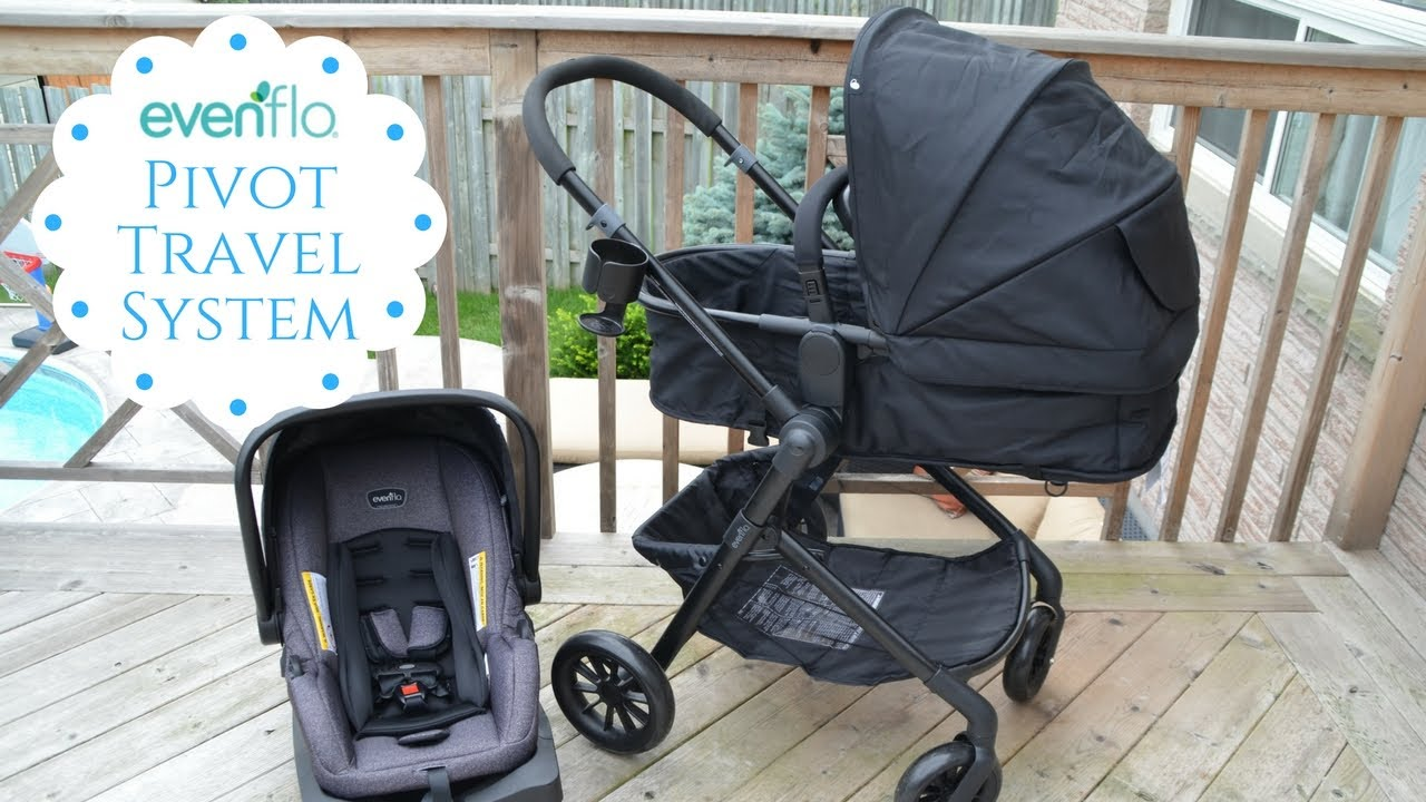 Top Lightweight Travel System Strollers New Evenflo Pivot Travel System Review