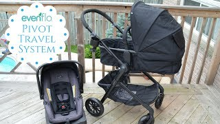 New! Evenflo Pivot travel System Review