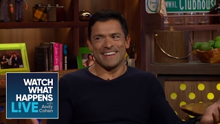 Mark Consuelos Compares Wife Kelly Ripa To #RHONJ 'Wives | WWHL