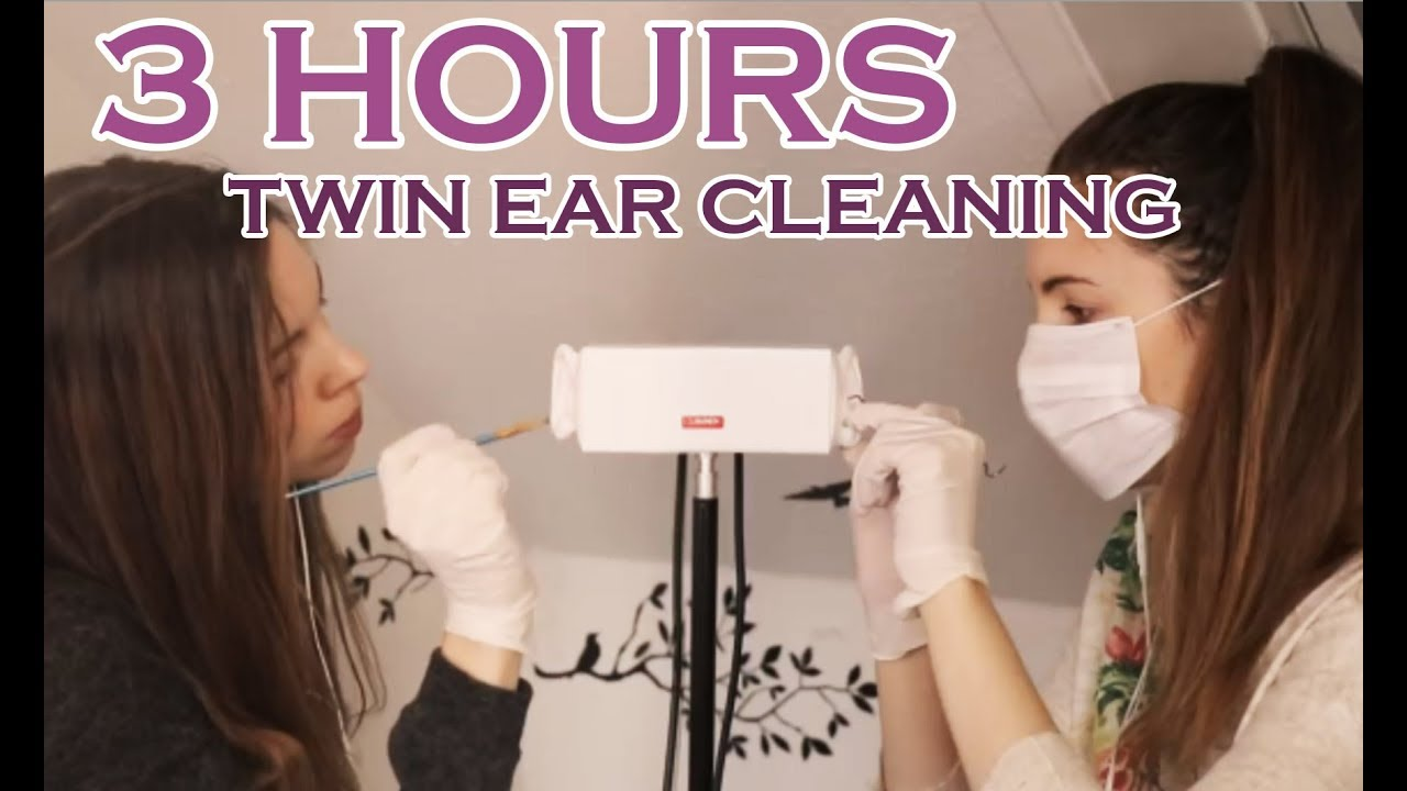 3 Hours Intense Twin ASMR Ear Cleaning