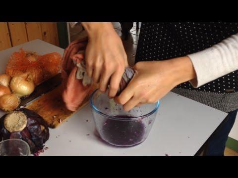 Fabriquer De La Peinture Vgtale  Youtube
