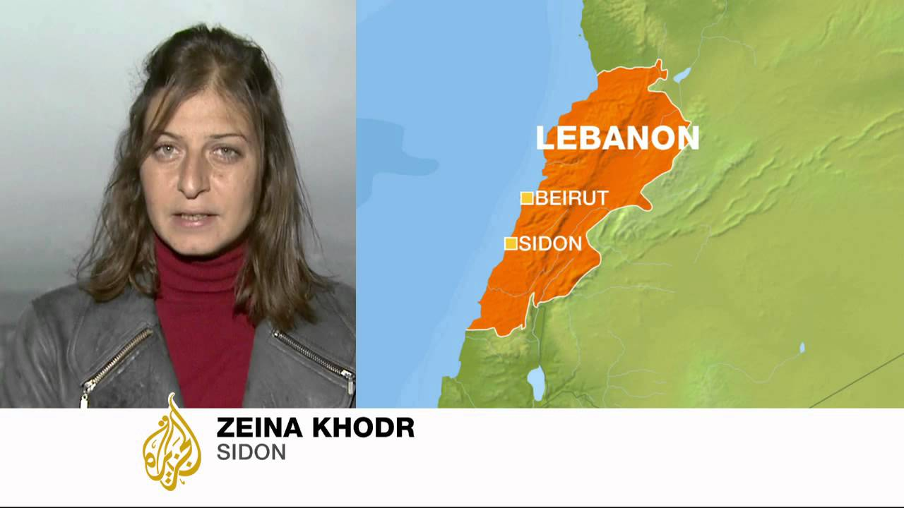 Zeina Khodr Reports About Lebanon Explosions Youtube