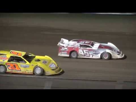 IMCA Late Model feature Independence Motor Speedway 7/2/16