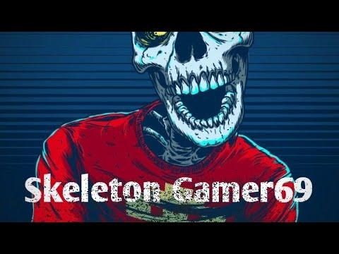 Spelar Skeleton Gamer 69 Lvls