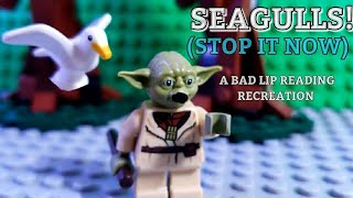 """Lego """"Seagulls! (Stop It Now)"""" -- A Bad Lip Reading of The Empire Strikes Back Recreation"""
