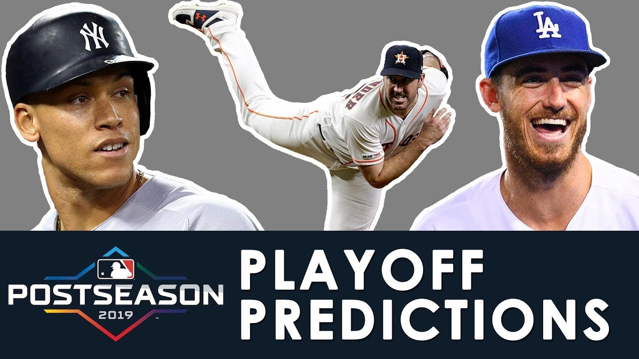 MLB Playoffs & World Series Predictions 2019 | ROTOWORLD