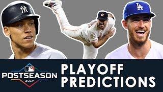MLB Playoffs & World Series Predictions 2019 | ROTOWORLD