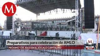 Cierran inmediaciones del Zócalo por 'bailongo' de AMLO