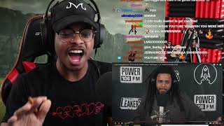 ImDontai Reacts To J Coles Freestlye On LA Leakers