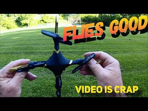 Protocol Videodrone First Outdoor Flight Video is Crap