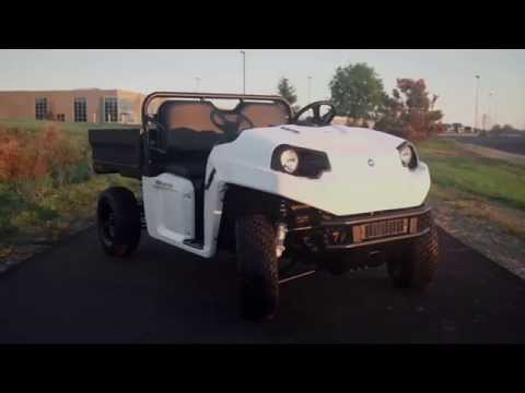 The New Polaris GEM eM1400 Electric Utility Buggy
