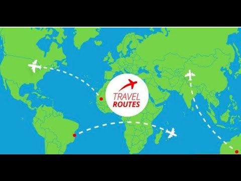 Videohive Travel Routes Maker » free after effects templates ShareA