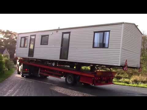 Home Delivery- Getting Our Caravan To Raasay