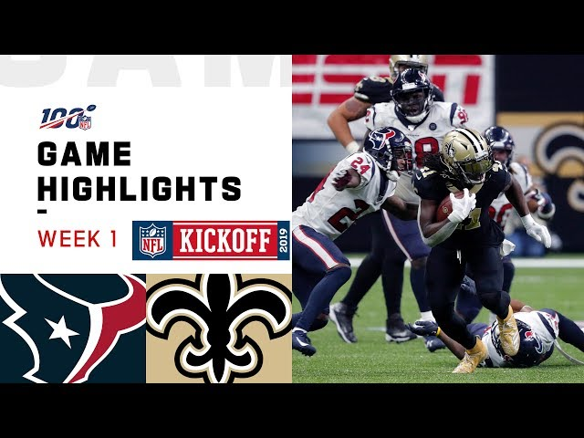 Texans vs. Saints Week 1 Highlights | NFL 2019