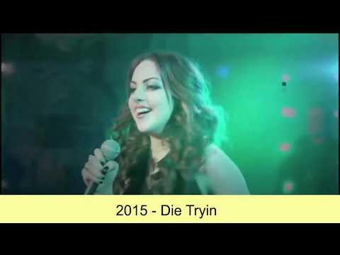 Elizabeth (Liz) Gillies - Music Evolution (2010-2016)
