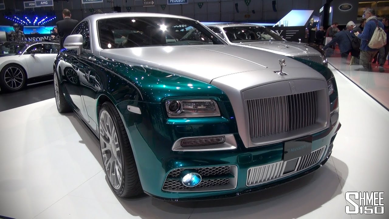 First Look  Mansory Rolls-royce Wraith