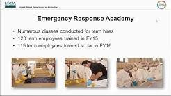National Training and Exercise Program