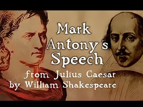 Mark Antony's Speech