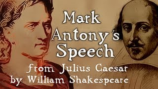mark antony s speech from julius caeser by william shakespeare