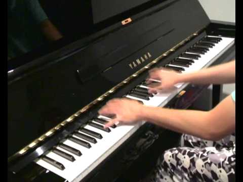 Coldplay  Clocks piano  improved version