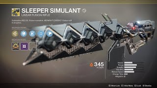 Destiny 2 - How To Get Sleeper Simulant (Full Exotic Quest Chain)