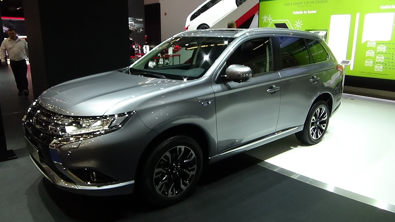 2016 mitsubishi outlander phev exterior and interior iaa frankfurt 2015 youtube - Mitsubishi Outlander Interior